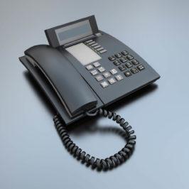 Schnurtelefonanlage